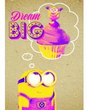 Felicitare Danilo - Crafty Minions: Dream Big -1