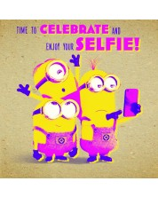 Felicitare Danilo - Crafty Minions: Selfie -1