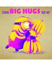 Felicitare Danilo - Crafty Minions: Big Hugs -1