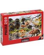 Puzzle Anatolian de 260 piese - Valea dinozaurilor II, Howard Robinson
