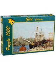 Puzzle Gold Puzzle de 1000 piese - langa cornul de aur