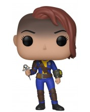 Figurina Funko POP! Games: Fallout - Vault Dweller Female, #372