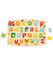 Puzzle din lemn Hape - Alfabet -1