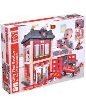 Joc pentru copii Hape - Statie de pompieri -1