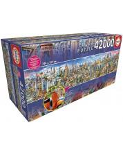 Puzzle Educa de 42 000 piese - Around The World