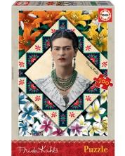 Puzzle Educa de 500 piese - Frida Kahlo