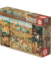 Puzzle Educa 9000 piese - The Garden of Earthly Delights
