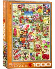 Puzzle Eurographics de 1000 piese – Catalog cu seminte colorate