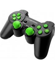 Controller Esperanza - Corsair, negru/verde