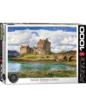 Puzzle Eurographics de 1000 piese - Castelul Eilean Donan, Scotia -1