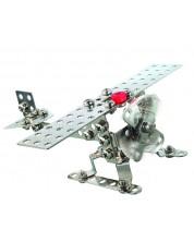 Constructor metalic Basic - Avion/Elicopter de la Eitech