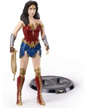 Figurina de actiune The Noble Collection DC Comics: Wonder Woman - WW84 (Bendyfigs), 19 cm