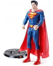 Figurina de actiune The Noble Collection DC Comics: Superman - Superman (Bendyfigs), 19 cm