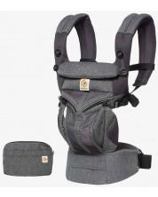 Marsupiu ergonomic Ergobaby Omni 360 - Cool Air Mesh, Classic Weave -1