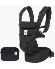 Marsupiu ergonomic Ergobaby - Omni 360, Pure Black -1