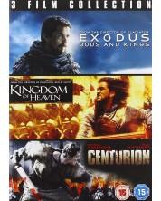 Exodus / Kingdom Of Heaven / Centurion (DVD)