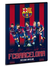 Caiet scolar А4, 40 file Ars Una - FC Barcelona, jucatori -1