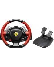 Volan cu pedale Thrustmaster XB1 TM 458 Spider - pentru XboxOne, negru/rosu