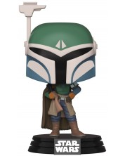 Figurina Funko Pop! Star Wars: The Mandalorian - Covert Mandalorian (Bobble-Head), #352