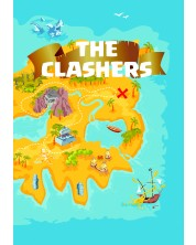 Caiet scolar A4, 48 file The Clashers - Geografie