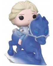 Figurina Funko Pop! Rides: Frozen 2 - Elsa Riding Nokk, #74