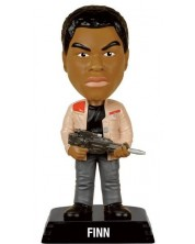 Figurina Funko Wacky Wobbler Movies: Star Wars - Finn, 15 cm