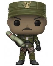 Figurina Funko Pop! Games: Halo - Sgt. Johnson, #08