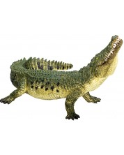 Figurina  Mojo Wildlife - Crocodil cu maxilar mobil