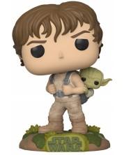 Figurina Funko POP! Star Wars: 40Years Empire Strikes - Luke Skywalker & Yoda #363