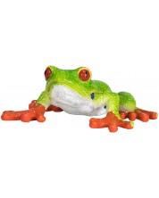 Figurina Mojo Wildlife - Broasca de copac, cu ochii rosi