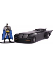 Figurina Metals Die Cast DC Comics: Batman - The Animated Series Batmobile with figure