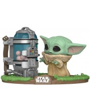 Figurina Funko POP! Television: The Mandalorian - The Child with Egg Canister #407