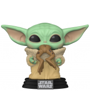 Figurina Funko Pop! Star Wars: The Mandalorian - The Child with Frog #379