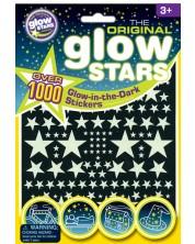 Stickere fosforescente Brainstorm Glow - Stele, 1000 bucati