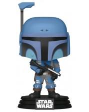 Figurina Funko POP! Star Wars: The Mandalorian - Death Watch Mandalorian (Two Stripes), #354