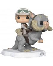 Figurina Funko POP! Movies: Star Wars - Luke Skywalker with Tauntaun #366