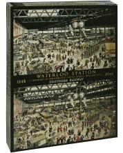 Puzzle Gibsons de 1000 piese – Gara Waterloo, Helen McKee