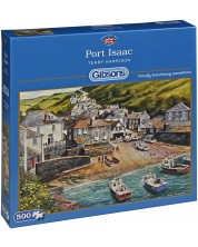 Puzzle Gibsons de 500 piese - Port Isaac, Terry Harrison