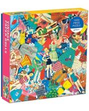 Puzzle Galison de 1000 piese - Papusi vintage din hartie