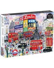Puzzle Galison de 1000 piese - Londra, Michael Storrings