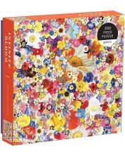 Puzzle Galison de 500 piese - Covor de flori, Ben Gillis