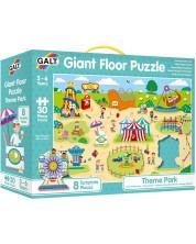 Puzzle gigant pentru pardoseala Galt, 30 piese, Parc de distractii -1