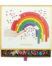Puzzle Galison de 750 piese - Curcubeu, Jonathan Adler