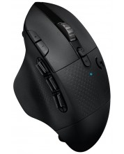 Mouse gaming Logitech - G604 LightSpeed, wireless, negru