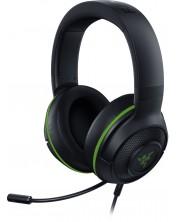 Casti gaming  Razer - Kraken X for Xbox, negre/verzi -1