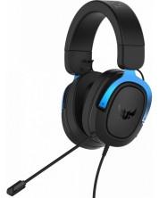 Casti gaming ASUS - TUF Gaming H3, 7.1, albastre/negre