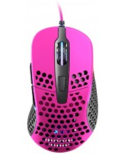 Mouse gaming Xtrfy - M4, optic, roz