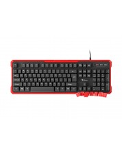 Tastatura gamng Genesis RHOD 110 - neagra/rosie