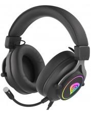 Casti gaming Genesis - Neon 750 RGB, negre