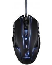 Mouse gaming Hama - uRage Reaper Ess, optic, negru/albastru